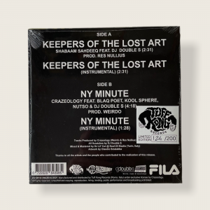 Keepers Of The Lost Art b/w NY Minute (7″)